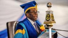 رئيس زيمبابوي السابق روبيرت موغابي.