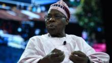 أولوسيجون أوباسانجو الرئيس السابق لنيجيريا.