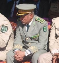 قائد التجمع العام لأمن الطرق اللواء المختار ولد بل (أرشيف الأخبار)