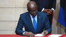 تييرنو آلاسان صال: وزير الطاقة السنغالي المقال.