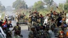 جنود من ساحل العاج.