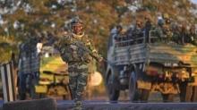 قوات من الإيكواس بالعاصمة بانجول.