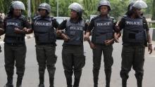 عناصر من الشرطة النيجيرية.