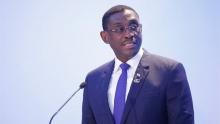 عمر حاميدو تشانا وزير النقل النيجري المستقيل من منصبه.