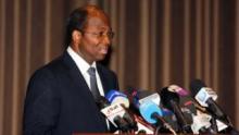 جبريل باسولي وزير الشؤون الخارجية السابق ببوركينافاسو.