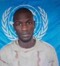 الجندي نوح ولد امبارك فال، قتل أمس في هجوم استهدف دورية للجيش الموريتاني بوسط إفريقيا