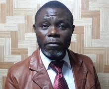 رونالد ديزيري آبا مينكو: مرشح للانتخابات الرئاسية الأخيرة.