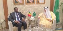 الوزيران المالي عبد الله جوب، والسعودي عادل الجبير.