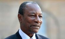 ألفا كوندي رئيس الاتحاد الإفريقي.