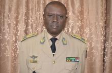 الجنرال افرانسوا انداي قائد قوات المجموعة الاقتصادية لدول غرب إفريقيا.