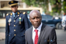 علي نجويل انجاي وزير الداخلية السنغالي.