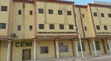 مقر اللجنة الوطنية المستقلة للانتخابات.