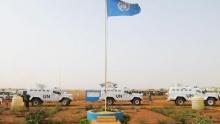 قاعدة المينيسما بمدينة غاو شمال مالي.
