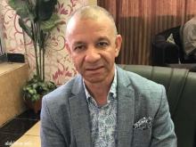 رئيس حركة البناء الجزائرية عبد القادر بن قرينة خلال مقابلة مع الأخبار بنواكشوط ـ (الأخبار)
