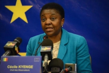 سيسيل كيانج: رئيسة بعثة الاتحاد الأوروبي لمراقبة الانتخابات المالية.