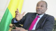 الرئيس الغيني آلفا كوندي.