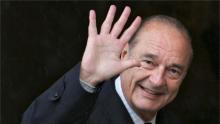 الرئيس الفرنسي الأسبق الراحل جاك شيراك