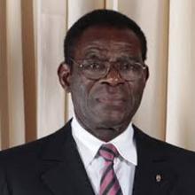 رئيس جمهورية غينيا الاستوائية تيودورو أوبيانغ.
