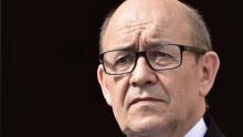 وزير أوروبا والشؤون الخارجية الفرنسي جان إيف لودريان.
