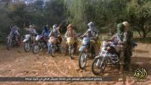 مقاتلون تابعون لجماعة نصرة الإسلام والمسلمين