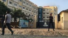 واجهة إحدى المدارس التركية التي تم إغلاقها في السنغال.