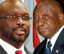 جوزيف بواكي وجورج ويا المتنافسان بالشوط الثاني من الانتخابات الرئاسية الليبيرية.