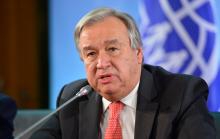الأمين العام للأمم المتحدة أنتونيو غوتيريش