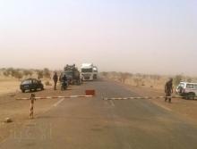 معبر كوكي الزمال الحدودي بين موريتانيا ومالي ـ (أرشيف الأخبار)