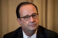الرئيس الفرنسي السابق فرانسوا هولاند.