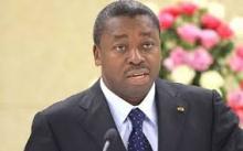 الرئيس التوغولي افور نياسينغبي.