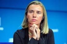 افيديريكا موغريني: مفوضة السياسة الخارجية والأمن في الاتحاد الأوروبي.