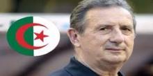 مدرب المنتخب الجزائري البلجيكي جورج ليكنس.
