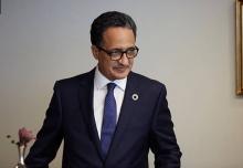 إسلك ولد أحمد إزيد بيه وزير الشؤون الخارجية والتعاون.