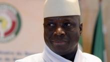 يحيى جامي الرئيس الغامبي السابق.