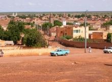 مدينة كيهيدي عاصمة ولاية كوركل جنوبي موريتانيا
