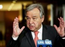 أنتونيو غوتيريش: الأمين العام للأمم المتحدة.