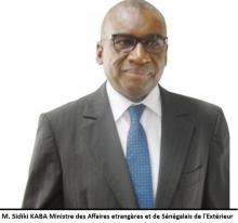 وزير الشؤون الخارجية والسنغاليين في الخارج صديكي كابا.