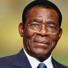 رئيس غينيا الإستوائية تيودورو أوبيانغ.