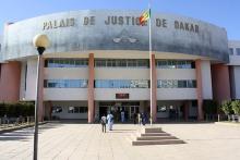مبنى قصر العدل بالعاصمة السنغالية داكار.