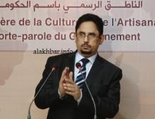 وزير الثقافة والصناعة التقليدية الناطق باسم الحكومة الموريتانيةمحمد الأمين ولد الشيخ (الأخبار - أرشيف)