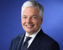 ديديي ريندرز نائب رئيس الوزراء البلجيكي، وزير الشؤون الخارجية.