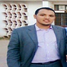 رئيس قسم الاتحاد الوطني لطلبة موريتانيا في المعهد العالي محمد الامين ولد حمنا