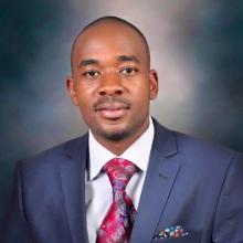 زعيم المعارضة بزيمبابوي نيلسون شاميسا.