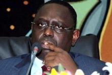 الرئيس السنغالي ماكي صال.