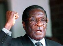 روبيرت موغابي: رئيس زيمبابوي.