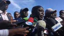 إدريسا سك: مترشح للرئاسة السنغالية.