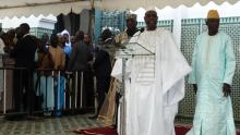 الرئيس السنغالي: ماكي صال لدى إعلان تصريحه