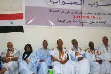 منصة المهرجان المنظم في نواكشوط مساء أمس الأحد (وما)