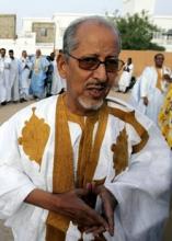 الرئيس الموريتاني السابق سيدي محمد ولد الشيخ عبد الله