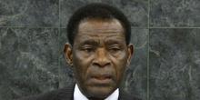 تيودورو أوبيانغ نغيما مباسوغو: رئيس جمهورية غينيا الاستوائية.